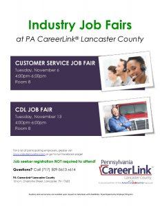 Industry Job Fair Flyer